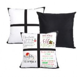 4 Panel Plush Pillow Cover (BZ15)