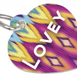 4737 PET TAG HEART 2 SIDED
