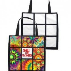 9 Panel Plush Tote Bag (PTB01)