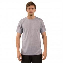 Basic Ash-Heather T-Shirt -2XL (6 Per Pack) (A1SJBBAH6) VAPOR APPAREL