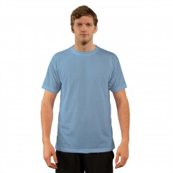 Basic Blizzard Blue  T-Shirt -Small (6 Per Pack) (A1SJBBBZ2) VAPOR APPAREL