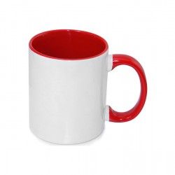 15oz Inner Rim Color Mug Red (36pcs/Case) ___ (MUG-IR15R)