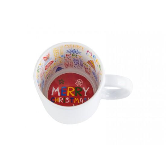 11oz Motto Mug Merry Christmas (BD101-CM)  FL-14