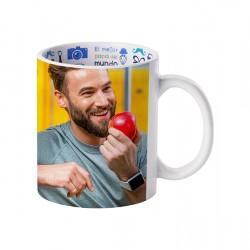 11oz Motto Mug Best father, Spanish BD101-FDS