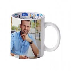 11oz Motto Mug Best Father, English BD101-FD