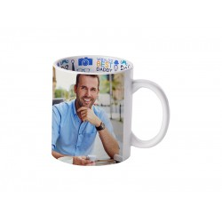 11oz Motto Mug Best Father, English BD101-FD