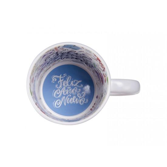 11oz Motto Mug Happy New Year, Spanish (BD101-HNS)  FL-14