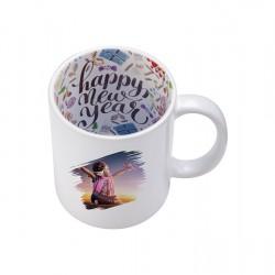11oz Motto Mug HAPPY New Year BD101-HN