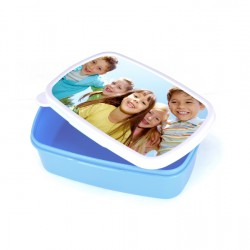 Sublimation Plastic Lunch Box With Premium Metal Insert BLUE (BFH-LB)