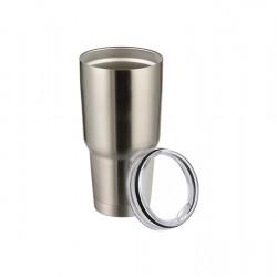 30oz SUBLITI Stainless Steel Tumbler (Silver) (BYETI30S)