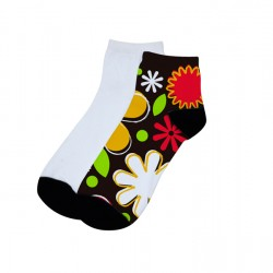 Sublimation Ankle Socks for Women sold by pair (SOCK-W22A) 6pcs/pack ($17.39)