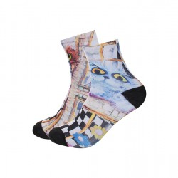 Sublimation Sock for Men Short sold by pair (SOCK-M25) 6pcs/pack ($17.39)