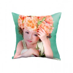 Double-Sided Pillow Cover Polyester 14x14 (357)
