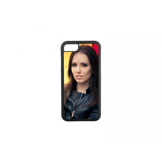 iPhone 7/8 Cover  (Rubber BLACK )