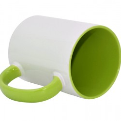 15oz Inner Rim Color Mug Light green ____ (MUG-IR15LG)