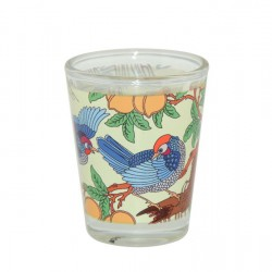 1.5oz Shot Glass Mug with White Patch (sold by 12pcs) (BN21)