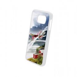 Plastic Cover for Samsung S6 White (PC-S6-W )