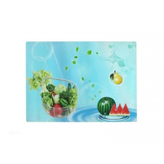 """Glass Cutting Board 7.875"""" x 11"""" (CB01)  D-6"""