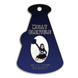 5897 FRP Megaphone Bag Tag  Double Sided 4x2.75  10 p/c  $16.99