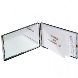Compact Mirror - Rectangular W/Address And Telephone List  JB13