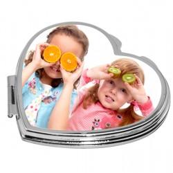 Compact Mirror Heart  JB14