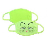 Facial Fashion Cover Neon -Green 2 Ply Poly Performance Dry Fit Facial Fashion Covers  (FC2PLYG )   (10 Per Pack ) $34.99   NO RETURN ON THIS PRODUCT OR REFUND!!!!