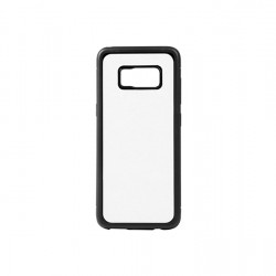 Samsung  S8 G9500 Cover with insert Ruber Black