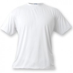 Basic White T-Shirt -Large (6 Per Pack) (A1SJBBWH4) VAPOR APPAREL