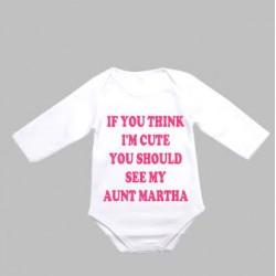 Baby Sleeve Onsie Long Sleeve JA602W-L 6-9 Months